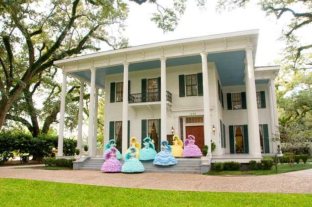 Azalea Trail Maids at Bragg Mitchell Mansion